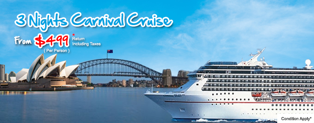 3 Nights Carnival Cruise